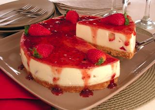 cheesecake low carb uma delícia