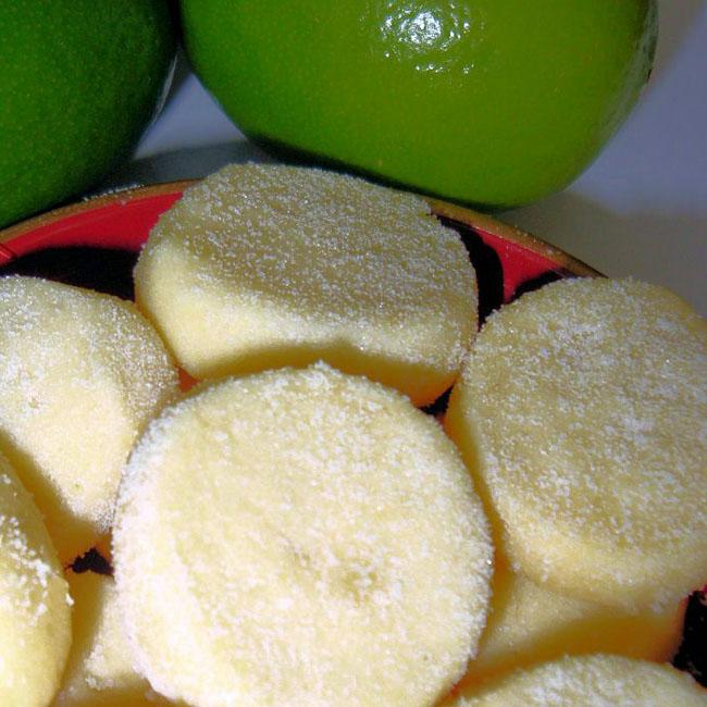 Biscoitinho de limão simples sensacional