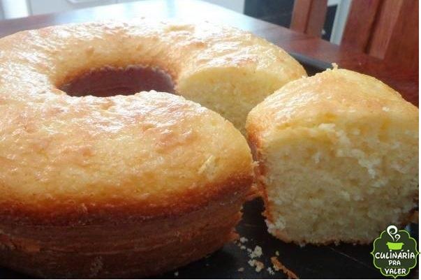 Bolo de arroz delicioso – muito fácil de fazer