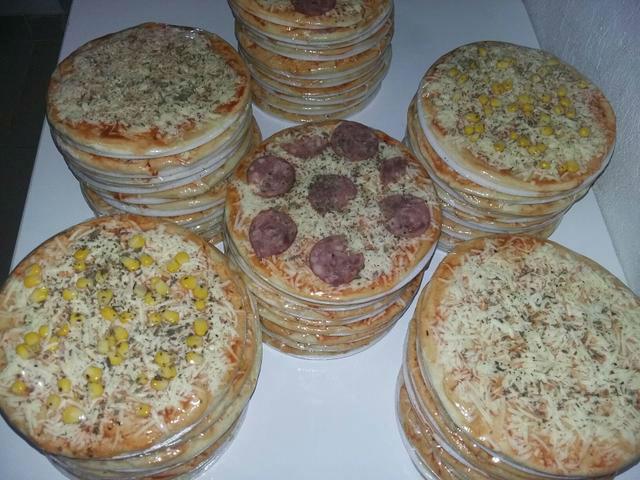 Pizza brotinho para fazer e vender
