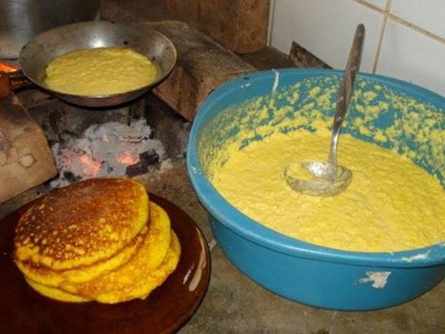 Como fazer broa de milho na frigideira