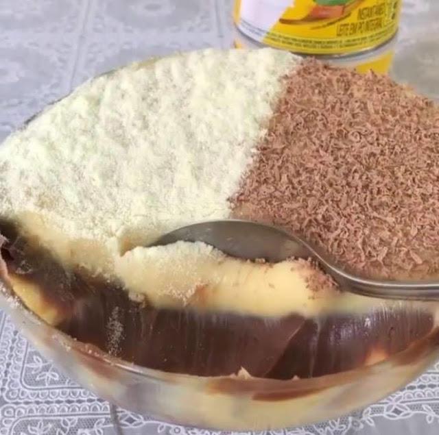 Brigadeiro de leite ninho e nutella, uma delícia !