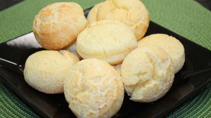 Pão de queijo light uma delícia