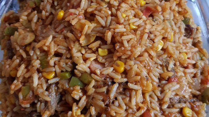 Receita de arroz carreteiro com sobras de churrasco