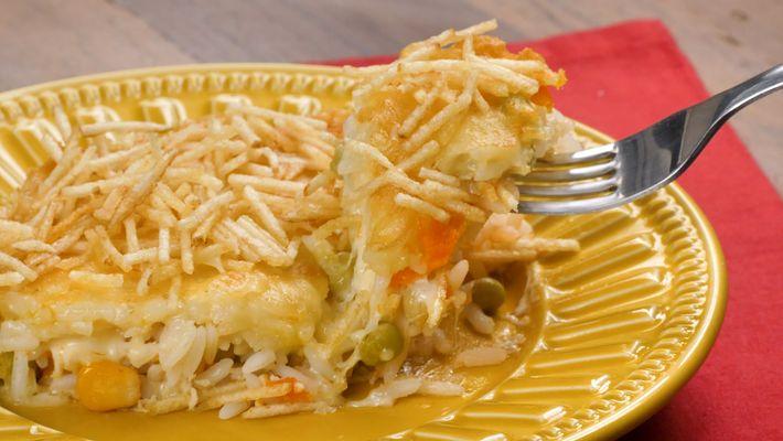 Receita de arroz de forno super-rápido