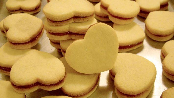 Receita de biscoito casadinho caseiro