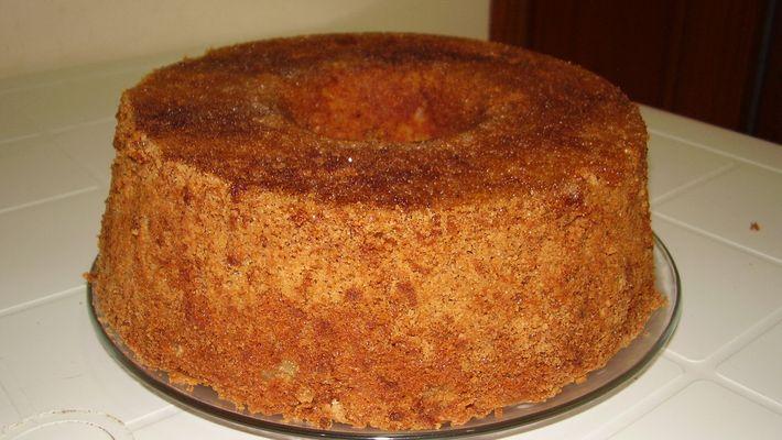 Receita de bolo de maçã com canela