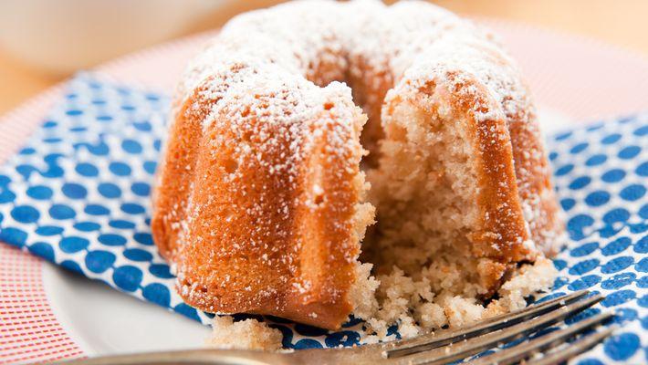 Receita de bolo integral com cevada e aveia