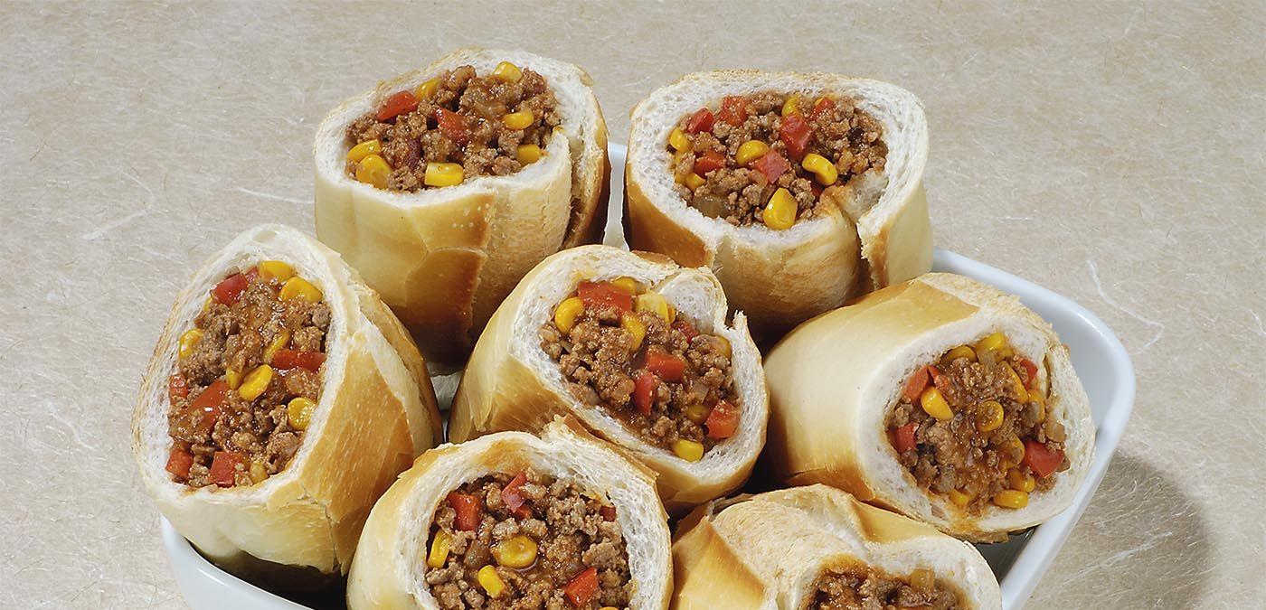 Receita de carne moída com milho e pimentão