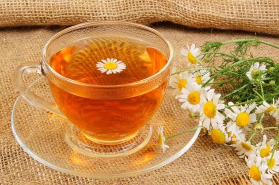 Receita de chá calmante e relaxante.