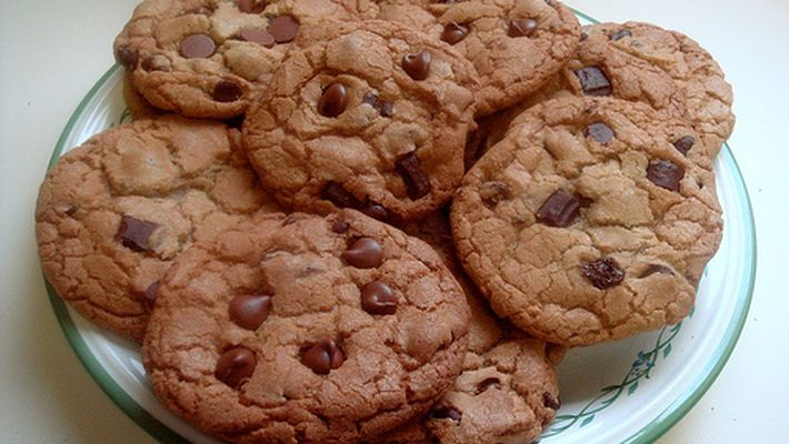 Receita de cookie de chocolate tradicional