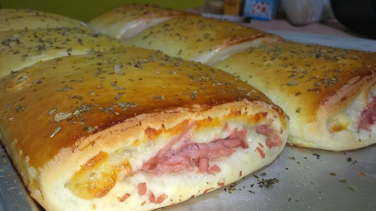 Receita de joelho de queijo e presunto
