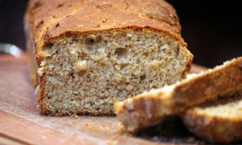 Receita de pão 100% integral de liquidificador