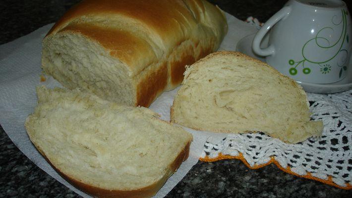 Receita de pão caseiro família