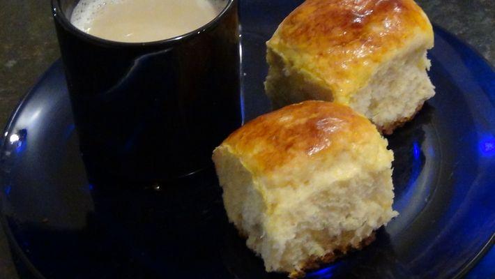 Receita de pão de batata caseiro