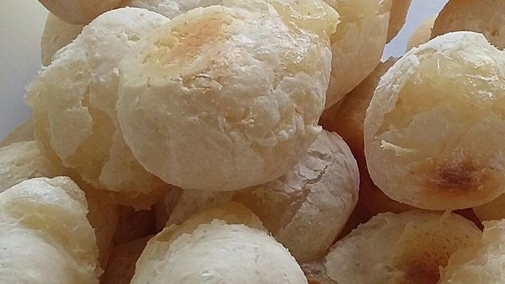 Receita de pão de queijo sem queijo, sem ovo e sem lactose