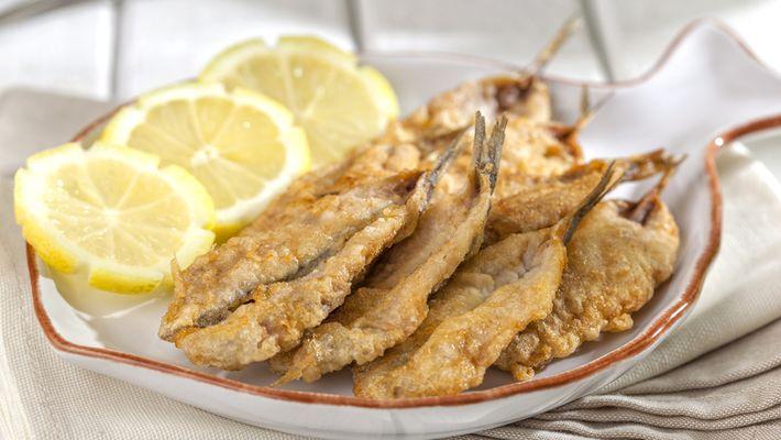 Receita de sardinha frita