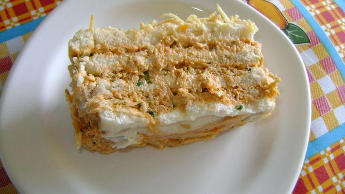 Receita de torta fria de salpicão diferente