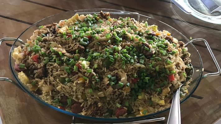 Receita de arroz chaufa