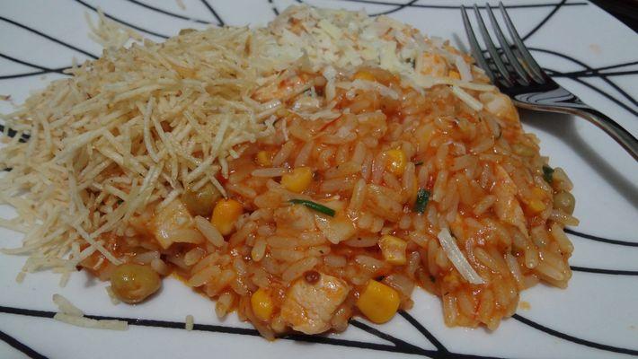 Receita de arroz especial