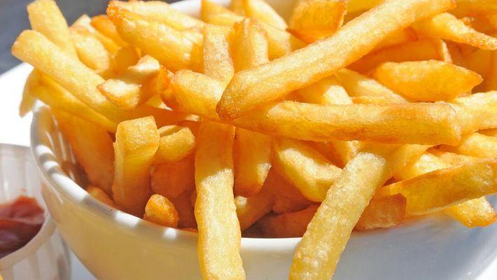 Receita de batata frita rápida