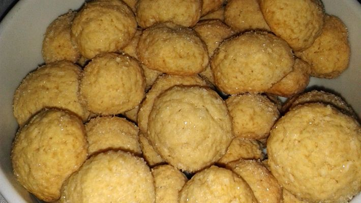 Receita de biscoito de coco