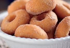 Receita de biscoito de trigo frito