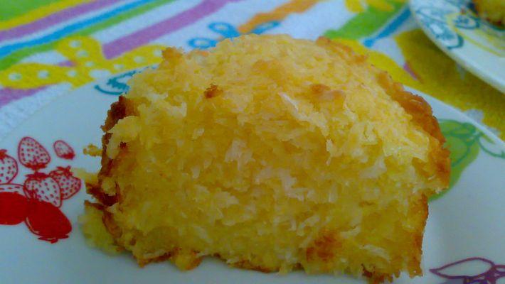 Receita de bolo de aipim (mandioca)