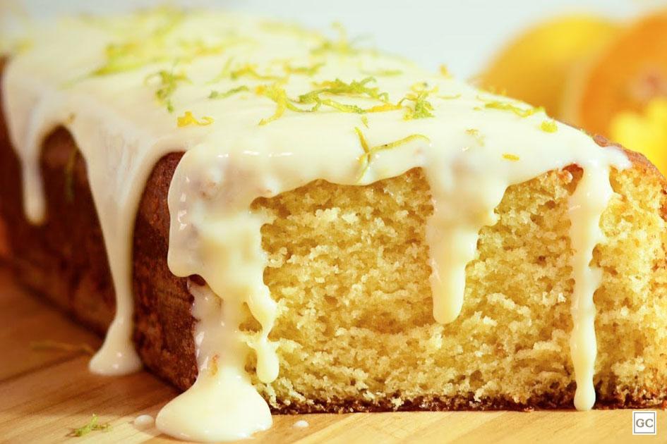 Receita de bolo fácil de laranja/limão de micro-ondas