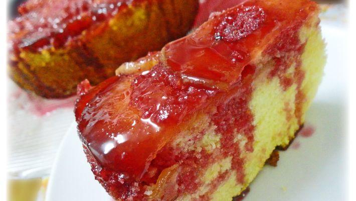 Receita de bolo maçã do amor
