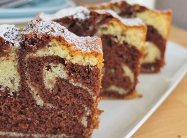 Receita de bolo mármore delicioso e fácil