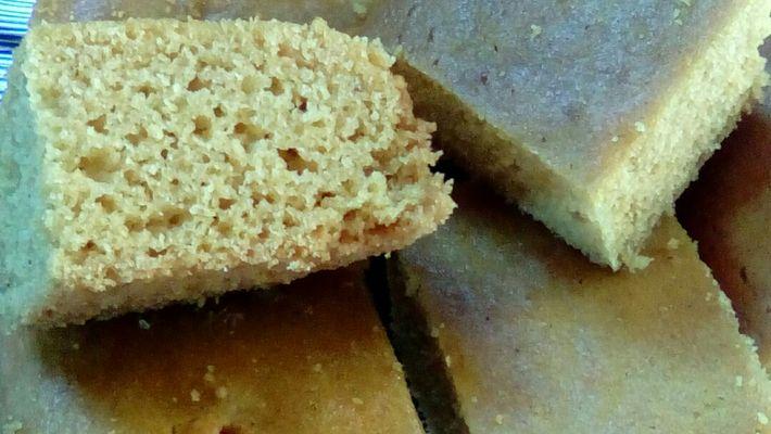 Receita de bolo sem farinha de trigo