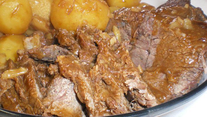 Receita de carne assada na panela de pressão