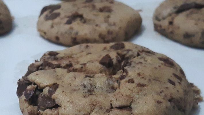 Receita de cookie fácil