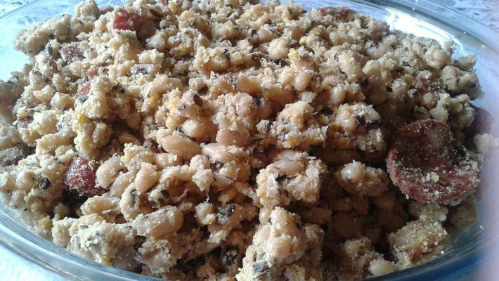 Receita de farofa de feijão fradinho