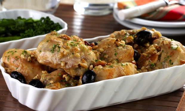Receita de frango africano (com amendoim e gengibre)
