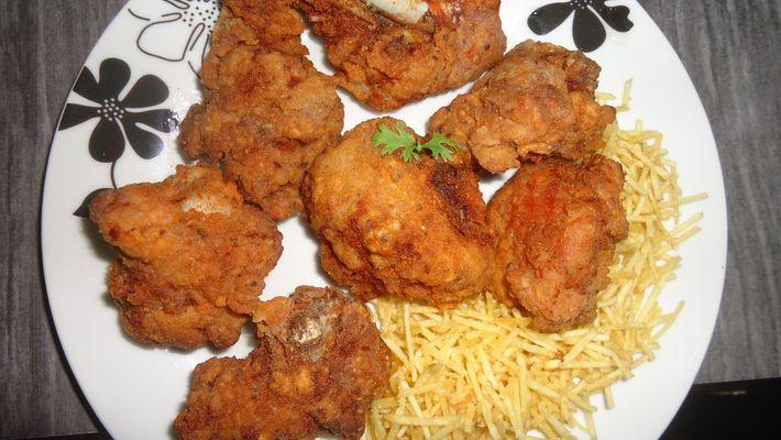 Receita de frango frito americano