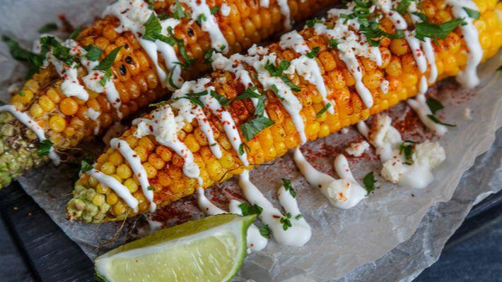 Receita de milho mexicano