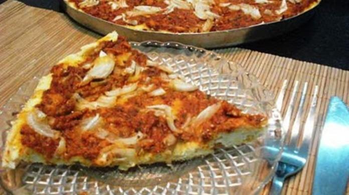 Receita de pizza de sardinha