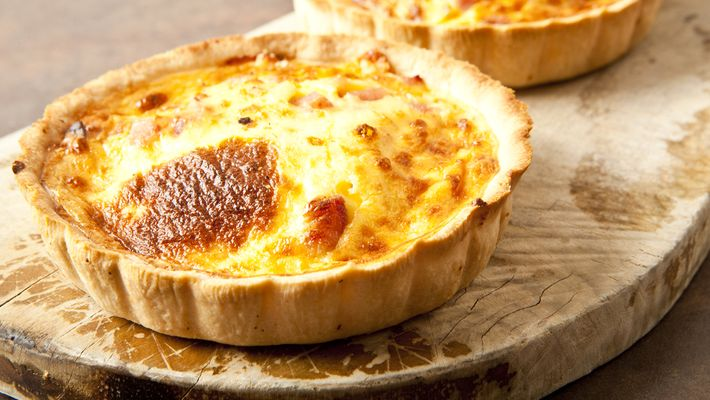 Receita de quiche de queijo