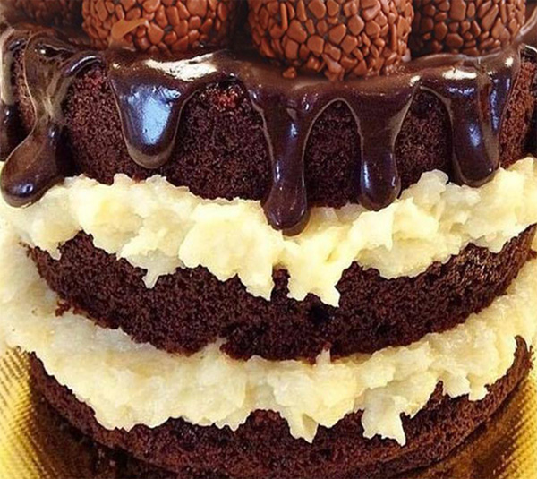 Receita de recheio cremoso de coco para bolo