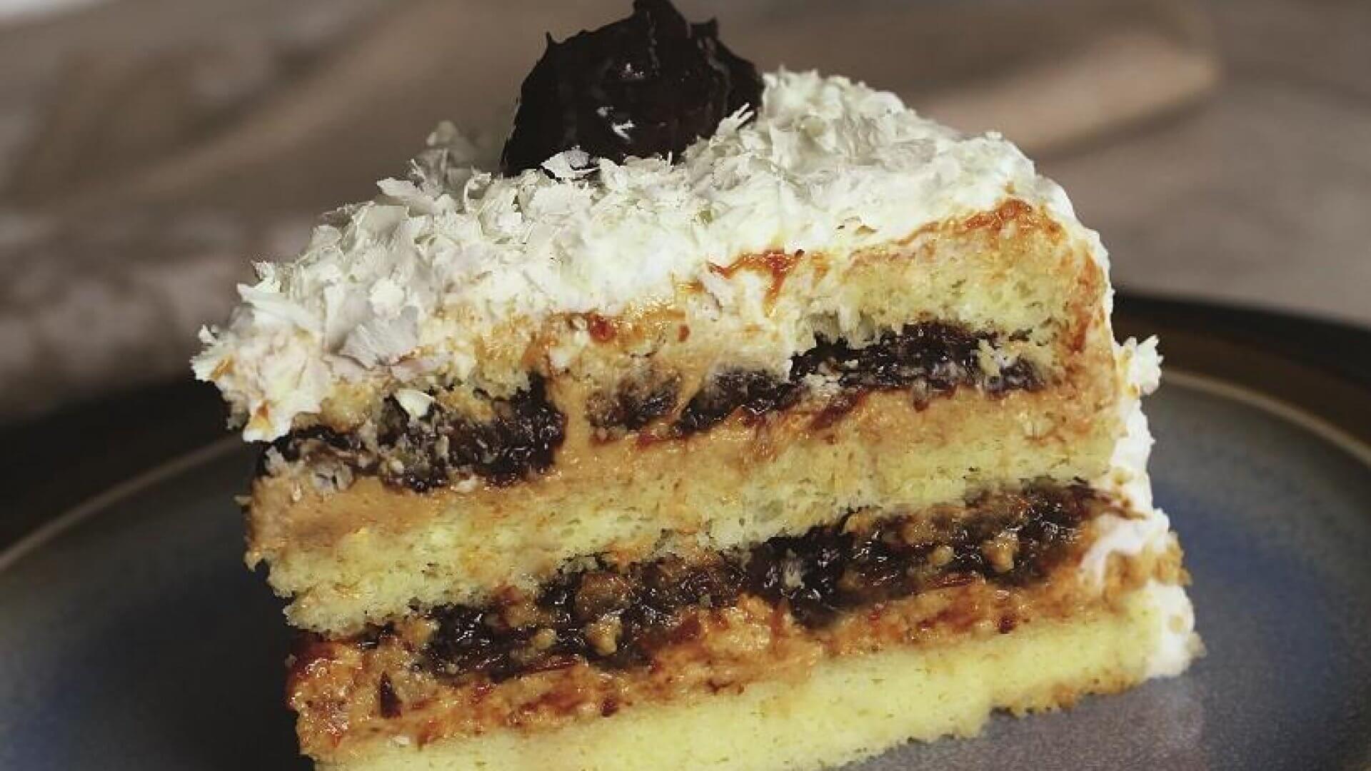 Receita de recheio de ameixa para bolo