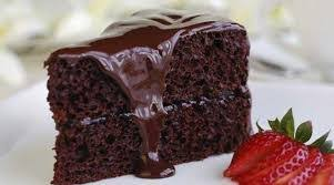 Receita de recheio e cobertura para bolo chocolate,
