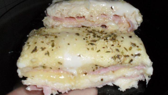 Receita de sanduíche gratinado