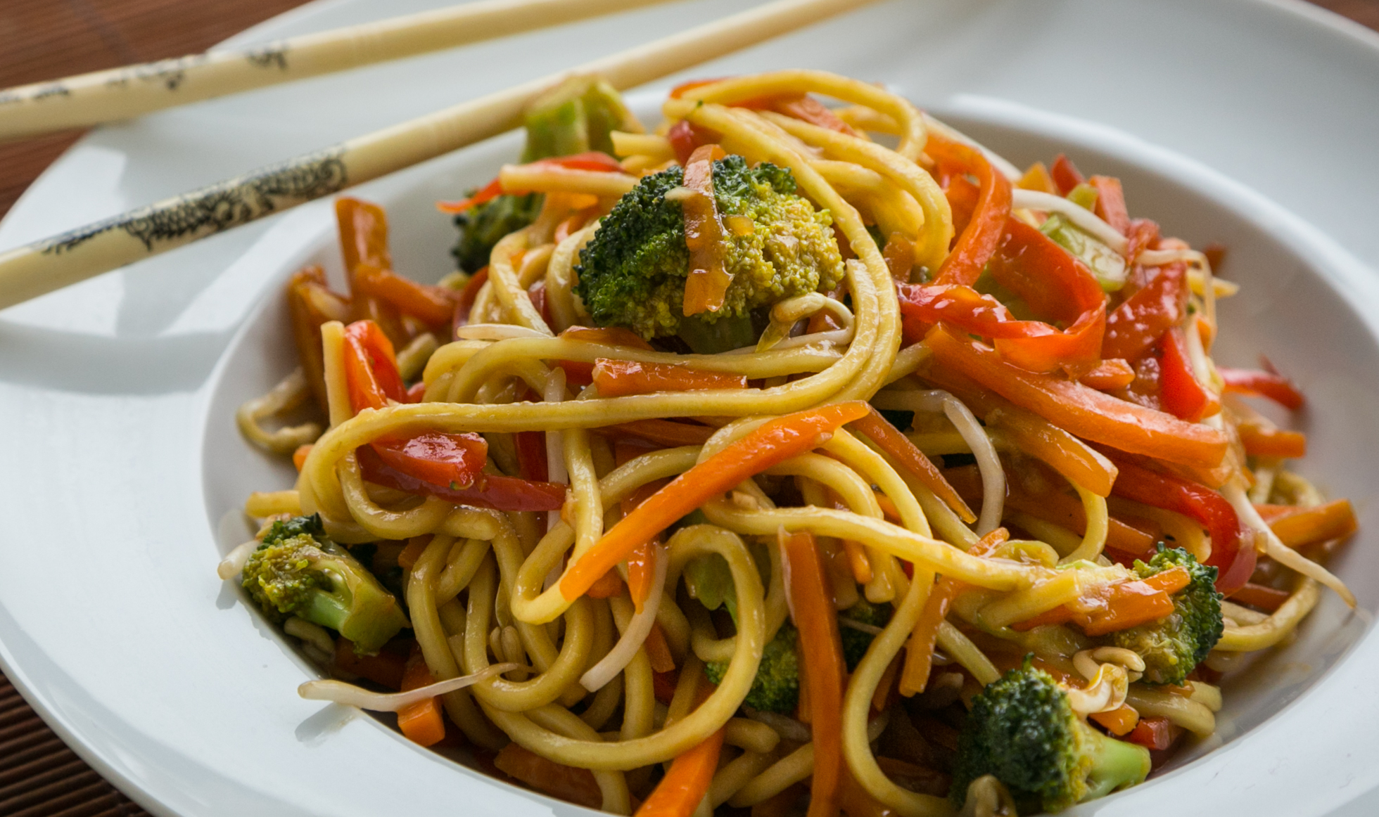 Receita de yakissoba de legumes