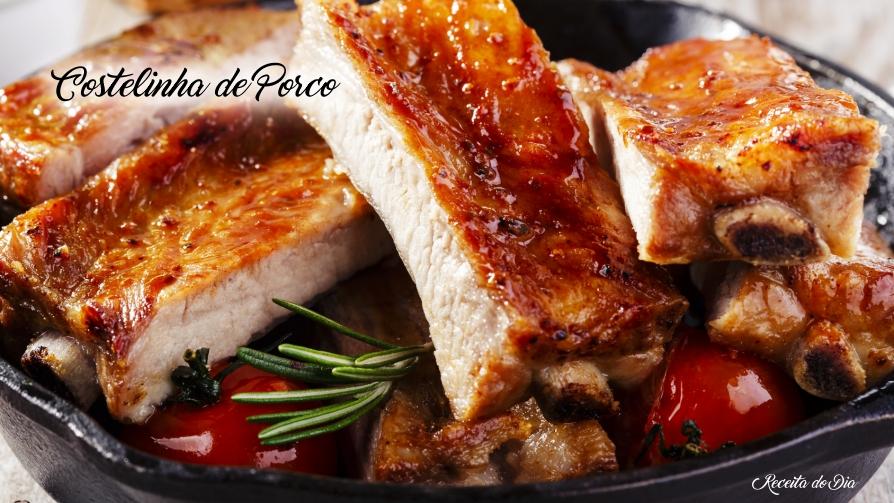 3 receitas de costelinha de porco muito saborosa