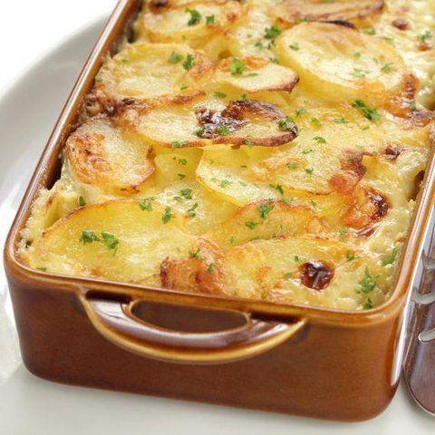 Como fazer lasanha de batata