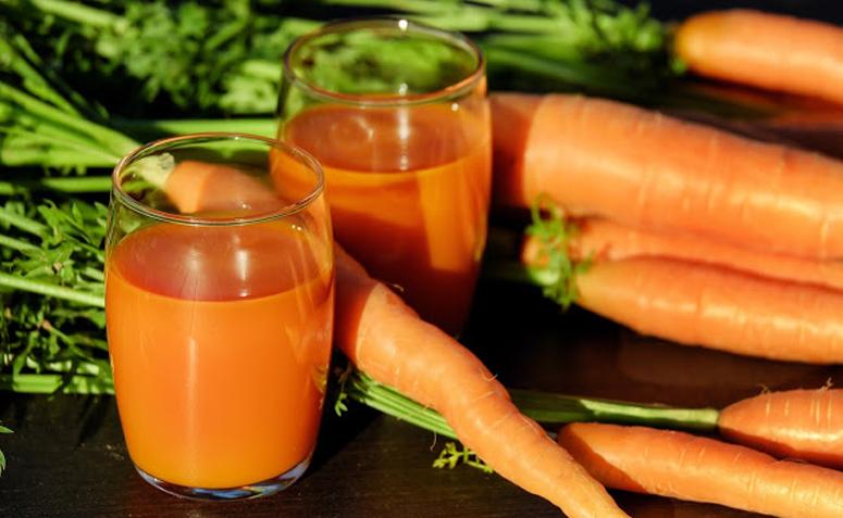 Como fazer suco de cenoura