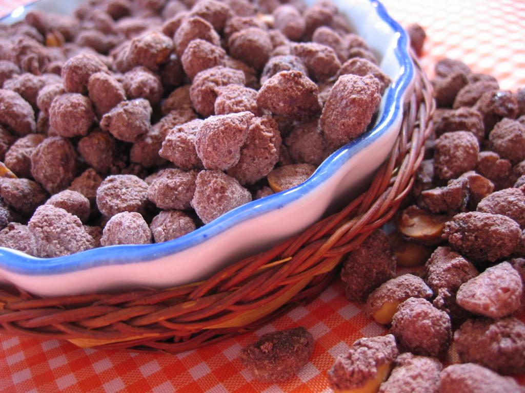 Receita de amendoim doce fácil de fazer