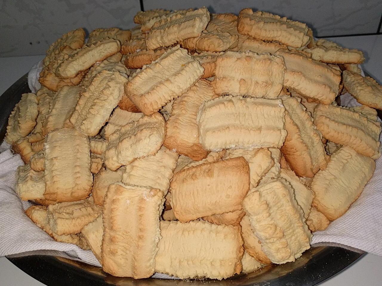 Receita de biscoito amanteigado fácil